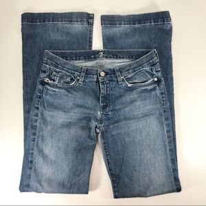 7 For all Mankind Dojo Jeans Medium Wash Size 29